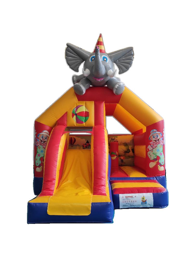 Hüpfburg kleiner Elefant mieten NRW